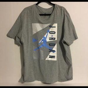 Air Jordan 3XL Grey T Shirt Mens, 100% Cotton